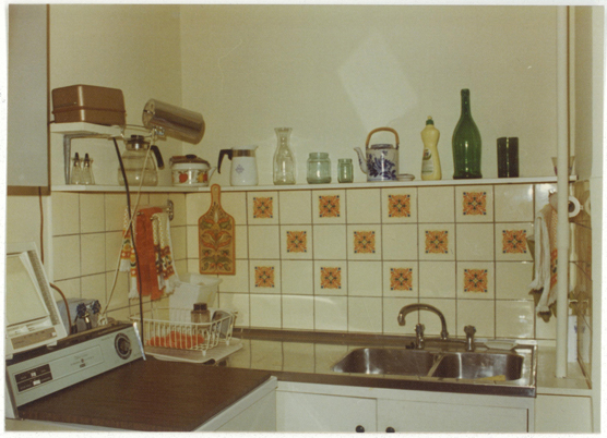 A tidy kitchen area